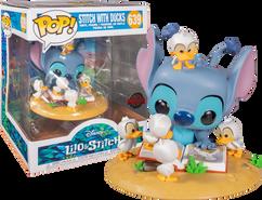 Lilo & Stitch - Stitch with Ducks Deluxe Pop! Vinyl Figure