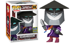 Samurai Jack - Scaramouche SDCC20 Pop! Vinyl Figure