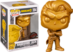 Borderlands - Handsome Jack Metallic Gold Pop! Vinyl Figure (2020 E3 Convention Exclusive)
