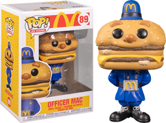 McDonald's - Officer Big Mac Pop! Vinyl Figure