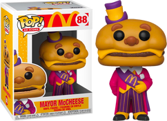 McDonald's - Mayor McCheese Pop! Vinyl Figure