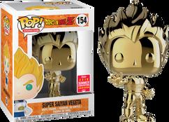 Dragon Ball Z - Super Saiyan Vegeta Gold Chrome SDCC18 Pop! Vinyl Figure