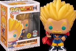 Dragon Ball Super - Hercule Super Saiyan Glow in the Dark Pop! Vinyl Figure