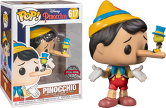 Pinocchio - Pinocchio with Jiminy Cricket Pop! Vinyl Figure