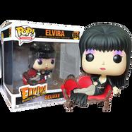 Elvira - Elvira on Couch Deluxe Pop! Vinyl Figure