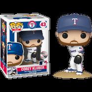 MLB Baseball - Corey Kluber Texas Rangers Pop! Vinyl Figure