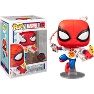 Spider-Man - Spider-Man with Pizza Pop! Vinyl Figure