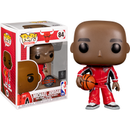 NBA Basketball - Michael Jordan in Red Warm-Up Suit Pop! Vinyl Figure