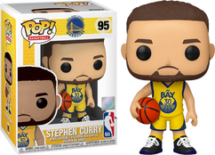 NBA Basketball - Steph Curry Golden State Warriors Alternate Pop! Vinyl Figure