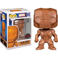 Iron Man - Iron Man Wood Deco Pop! Vinyl Figure
