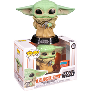 Star Wars: The Mandalorian - The Child (Baby Yoda) with Necklace Pop! Vinyl Figure (2020 Fall Convention Exclusive)