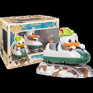 Disneyland: 65th Anniversary - Donald Duck with Matterhorn Bobsleds Attraction Pop! Rides Vinyl Figure
