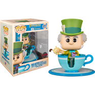 Alice in Wonderland - Mad Hatter with Teacup Tea Party Attraction Disneyland 65th Anniversary Pop! Rides Vinyl Figure