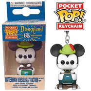 Disneyland: 65th Anniversary - Matterhorn Bobsleds Mickey Mouse Pocket Pop! Keychain
