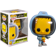 The Simpsons - Bart Simpson with Chestburster Maggie Pop! Vinyl Figure
