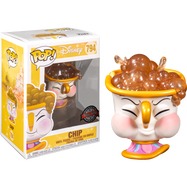 Beauty and The Beast - Chip with Bubbles Pop! Vinyl Figure