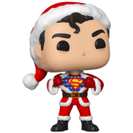 Superman - Superman with Christmas Sweater Holiday Pop! Vinyl Figure