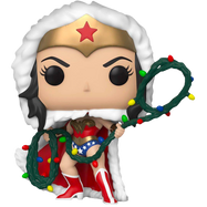 Wonder Woman - Wonder Woman with Christmas Lights Lasso Holiday Pop! Vinyl Figure
