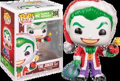Batman - Joker as Santa Holiday Pop! Vinyl Figure