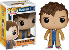 10th Doctor - Dr Who - POP! Television Vinyl Figure