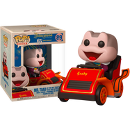The Adventures of Ichabod and Mr. Toad - Mr. Toad with Car Disneyland 65th Anniversary Pop! Rides Vinyl Figure