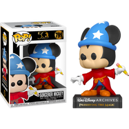 Walt Disney Archives - Sorcerer Mickey Mouse 50th Anniversary Pop! Vinyl Figure