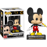 Walt Disney Archives - Classic Mickey Mouse 50th Anniversary Pop! Vinyl Figure