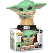 Star Wars: The Mandalorian - The Child (Baby Yoda) with Control Knob Pop! Vinyl Figure