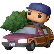 National Lampoon's Christmas Vacation - Clark Griswold with Station Wagon Pop! Rides Vinyl Figure
