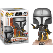 Star Wars: The Mandalorian - The Mandalorian with Jetpack Pop! Vinyl Figure
