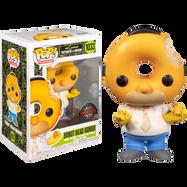 The Simpsons - Donut Head Homer Pop! Vinyl Figure