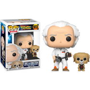 Back To The Future - Dr. Emmett Brown with Einstein Pop! Vinyl Figure