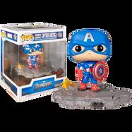 The Avengers - Captain America Avengers Assemble Diorama Deluxe Pop! Vinyl Figure