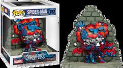 Spider-Man - Spider-Man Graffiti Deco Deluxe Pop! Vinyl Figure