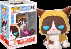 Grumpy Cat - Grumpy Cat Flocked Pop! Vinyl Figure