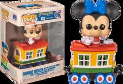Disneyland: 65th Anniversary - Minnie Mouse on the Casey Jr. Circus Train Attraction Pop! Vinyl Figure