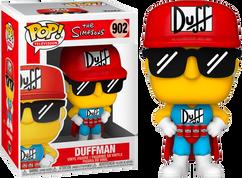 The Simpsons - Duffman Pop! Vinyl Figure