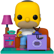 The Simpsons - Couch Homer Deluxe Pop! Vinyl Figure