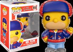 The Simpsons - Mr. Plow Pop! Vinyl Figure