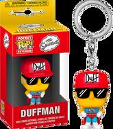 The Simpsons - Duffman Pocket Pop! Vinyl Keychain
