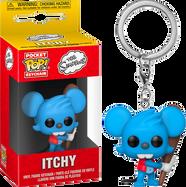 The Simpsons - Itchy Pocket Pop! Vinyl Keychain