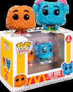McDonald's - Fry Kids Orange & Blue Pop! Vinyl Figure 2-Pack