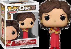 Clue - Miss Scarlet Pop! Vinyl Figure