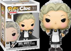 Clue - Mrs. White Pop! Vinyl Figure