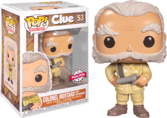 Clue - Colonel Mustard Pop! Vinyl Figure