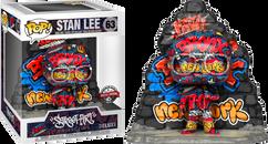 Stan Lee - Stan Lee Graffiti Street Art Collection Deluxe Pop! Vinyl Figure