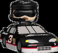 NASCAR - Dale Earnhardt Sr. in Car Pop! Rides Vinyl Figure