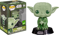 Star Wars - Yoda Military Green Pop! Vinyl Figure (2021 Spring Convention Exclusive)