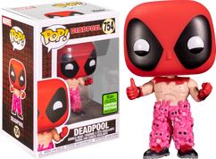 Deadpool - Deadpool with Teddy Pants Pop! Vinyl Figure (2021 Spring Convention Exclusive)