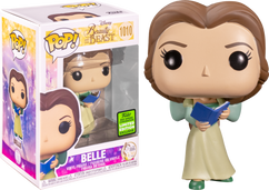 Beauty and the Beast - Belle with Green Dress 30th Anniversary Pop! Vinyl Figure (2021 Spring Convention Exclusive)